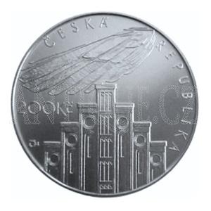 200 Kč 2008 Hlávka PROOF