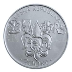 200 Kč 2012 Junák PROOF
