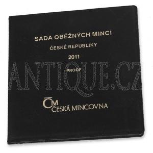 Sada mincí ČR 2011 PROOF - Semiš