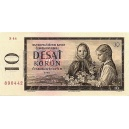 ČSSR 10 Kčs 1961 Bankovka