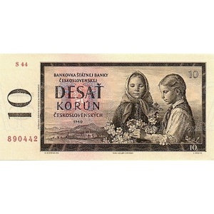 ČSSR 10 Kčs 1960 Bankovka