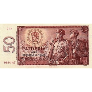 ČSSR 50 Kčs 1964 Bankovka