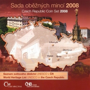 Sada mincí ČR 2008 BJ UNESCO