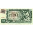 ČR 100 Kčs 1993/1961kolkovaná bankovka