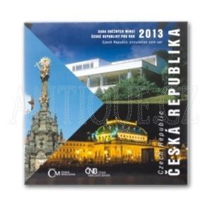 Sada mincí ČR 2013 BJ Česká Republika