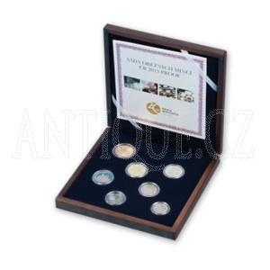 Sada mincí ČR 2013 PROOF - Dřevo