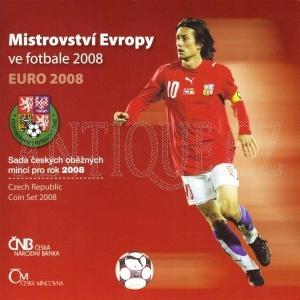 Sada mincí ČR 2008 BJ Fotbal