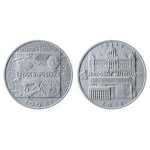 200 Kč 2018 - Národní muzeum PROOF