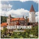 Sada mincí ČR 2018 BJ Česká Republika