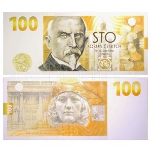 100 Kč Alois Rašín 2019 pamětní bankovka