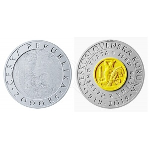 2000 Kč 2019 BK - Československá koruna - REZERVACE