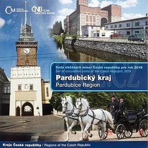 Sada mincí ČR 2019 BJ Pard.kraj