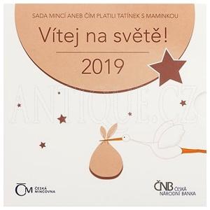 Sada mincí ČR 2019 BJ Narození dítěte