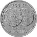 200 Kč 2020 - Zahájení ražby jáchymovských tolarů BK