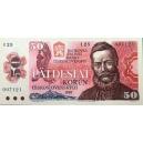 ČSSR 50 Kčs 1987 Bankovka I 09