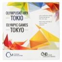 Sada mincí 2020 Olympijské hry v Tokiu BJ REZERVACE