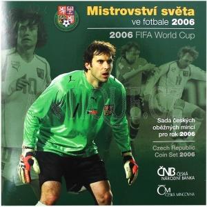 Sada mincí ČR 2006 BJ MS ve fotbale