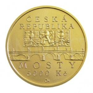 5000 Kč 2012 PROOF - Most v Náměšti nad Oslavou