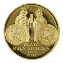 10000 Kč 2012 PROOF - Zlatá bula sicilská